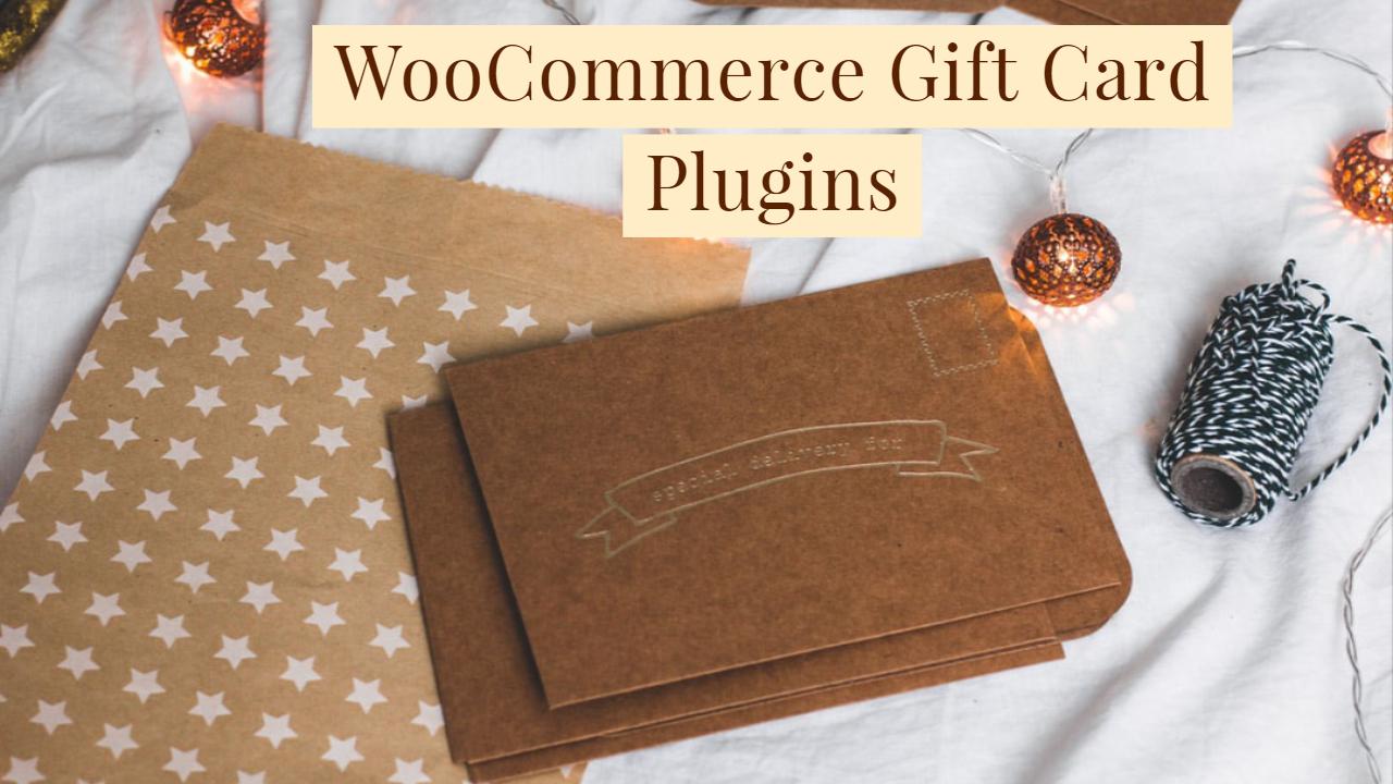 10 WooCommerce Gift Card Plugins