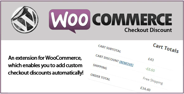 woocommerce checkout discount