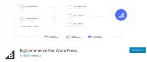 Big Commerce for wordpress