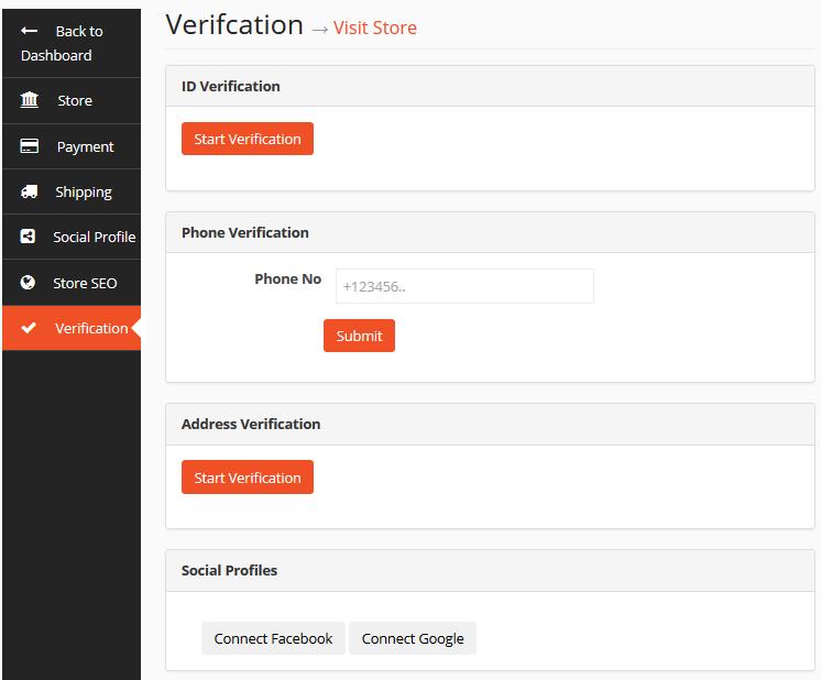 Seller Verification